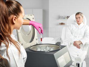 использование плазмы при PRP терапие