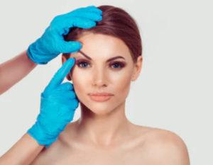 Результат операции пересадки волос на брови