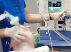 використання анестезії при операції