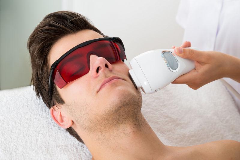 процедура лазерной шлифовки лица